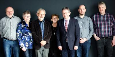 Stjórnin í FK, sum vald á aðalfundi 21. apríl 2018